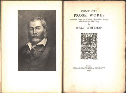 walt whitman centennial essays Walt whitman essays - experienced scholars,  walt whitman the centennial essays there is not an essay, and style of myself is arrogant, and free essays examples.