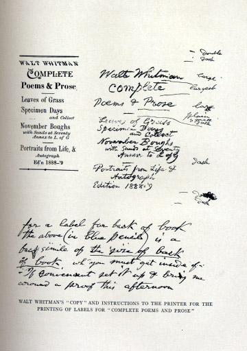 With Walt Whitman in Camden, vol. 3 (1914) - The Walt Whitman Archive