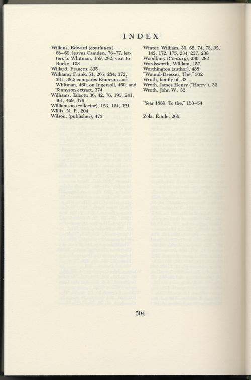 With Walt Whitman In Camden Vol 6 1982 The Walt Whitman Archive