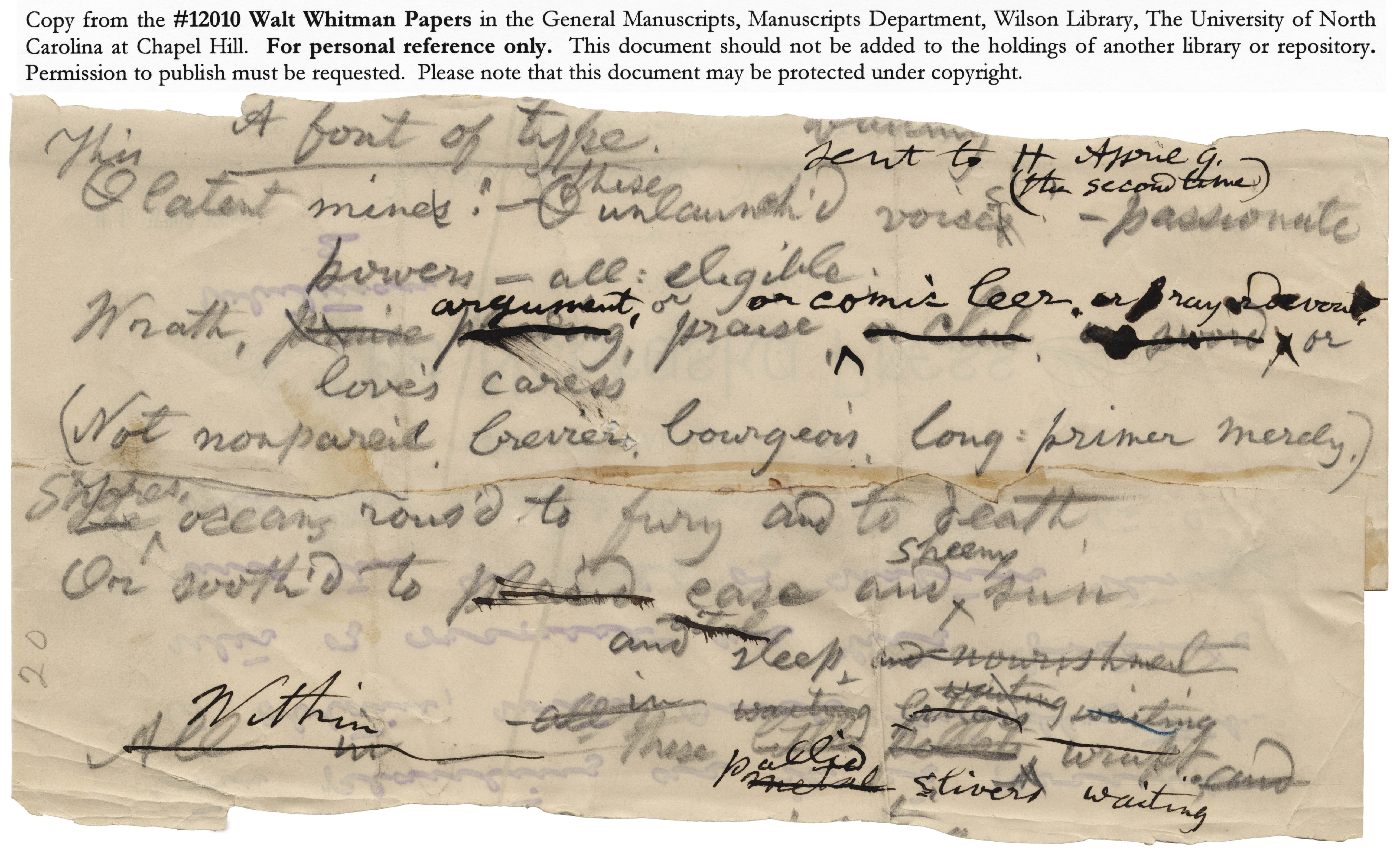 who is walt whitman essay Did you, too, o friend, suppose democracy was only for elections, for politics, and for a party name i say democracy is only of use there that it may pass on and.