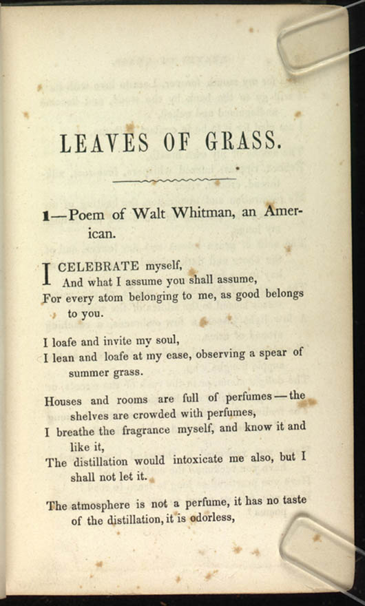 Miracles - Poem by Walt Whitman