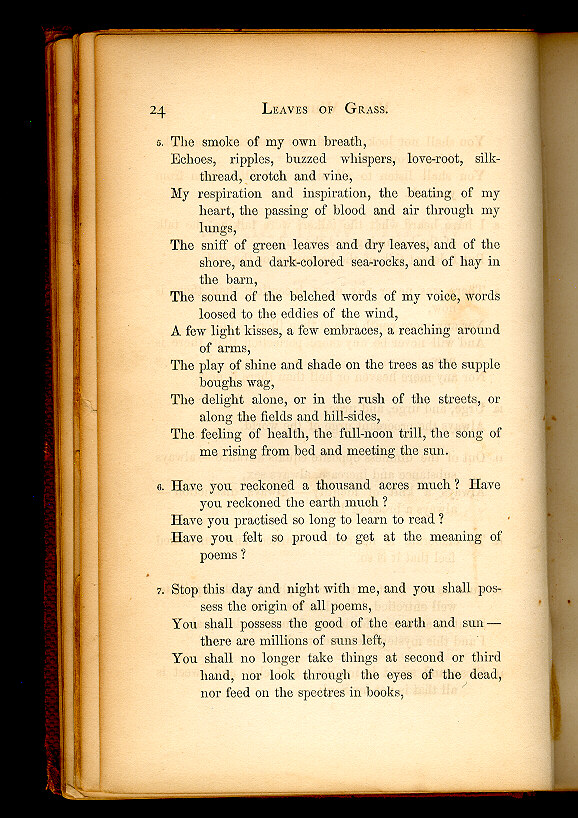 WALT WHITMAN  ( Leaves of Grass (1860–1861)) - The Walt Whitman Archive