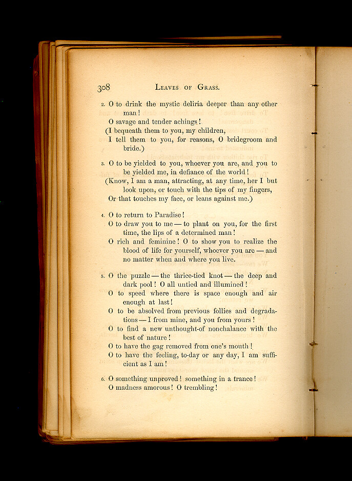 d19ac416a 6. ( Leaves of Grass (1860–61)) - The Walt Whitman Archive