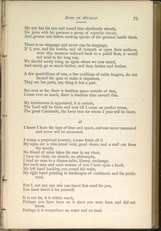 Song of myself leaves of grass 1881 82 the walt whitman archive stopboris Images